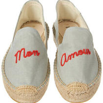 Soludos Mon Amour Smoking Slipper Blue Women's Photo