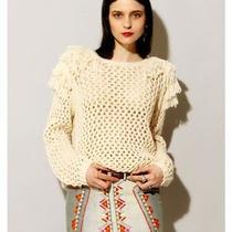 Something Else by Natalie Wood Fringe Sweater Photo