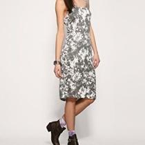Something Else by Natalie Wood Grunge Floral Tank Dress Size 2 Photo