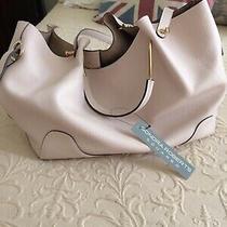 Sondra Roberts Squared Shoulder/satchel Purse. New/tags. Blush Color. Nice Photo