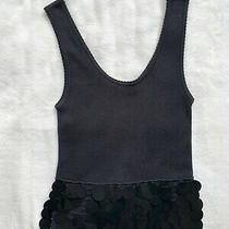Sonia Rykiel Black Vest Blouse. Size French 40.  Photo