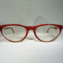Sonia Rykiel Eyeglasses Cat's Eye Oval Frames Women's Hyper Vintage Photo