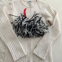 Sonia Rykiel Girls Sweater Size 10 Preowned Morocco Photo