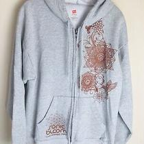 Sonic Bloom Gray Hoodie Sweatshirt Pullover Mens Size Large the Unified Field Photo