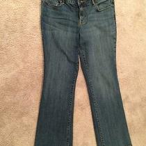 Sonoma Life Style Women's Blue Jeans Mid Rise Boot Cut Size 10 Photo