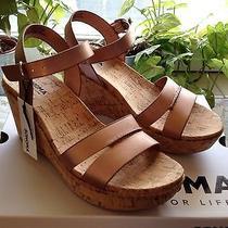 Sonoma Lola Rose Gold Platform Wedge Shoes Size 7.5 Bnib Photo