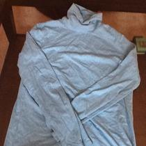Sonoma Size M Life & Style Womens Aqua Blue Turtleneck  Photo