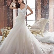 Sophia Tolli Wedding Dress- Y21508 Sidney Size 10 Blush/ivory Photo