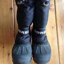Sorel 1 Boys Waterproof Snow Boots Black Photo