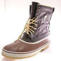 Sorel 1964 Nm1560 Mens Winter Classic Boots Brown  Size 12 M Photo