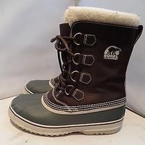 Sorel 1964 Premium  Mens 11 Waterproof Rubber Leather Insulated Winter Snow 149 Photo