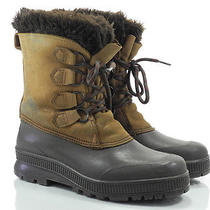 Sorel Badger 8 M Womens Boots Brown Leather Insulated Snow Winter Photo