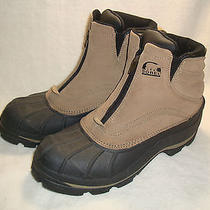 Sorel Barn-Zip Thinsulate Insulation Mens Snow  Boots Size 9.5 Photo