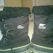 Sorel Black Size 8 Photo