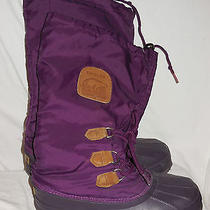 Sorel Boot Removable Lining Size 6 Very Gently Worn Snowlion Photo