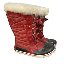 Sorel Boots 8 Women Red Photo