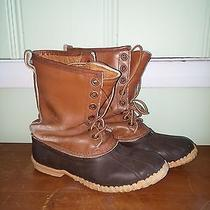 Sorel Boots-Brown Rubber Leather Upper Insulated Size 7 Photo