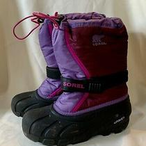 Sorel Boots Girls Youth Size 4 Photo