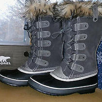 Sorel Boots Joan of Arctic Color Shale Waterproof Style Nl1540-051 Photo