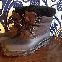 Sorel Boots Winter Snow Womens 11 Black  Photo