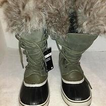 Sorel Boots Women's Joan of Arctic Winter Brown Fur Size 8 Bwaterproof Insulated Photo