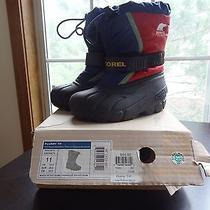Sorel Boys Snow Boots Sz 11 Photo
