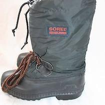 Sorel Boys Snow Boots Youth 3 Black  Photo