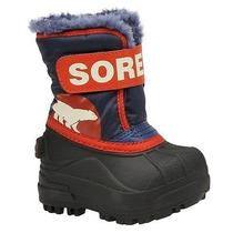 Sorel Boys Snow Commander (Toddler) Sz 7m Photo