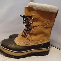 Sorel Caribou Ii Mens 10 Waterproof Rubber Leather Insulated Winter Snow 159 Photo