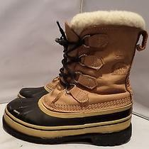 Sorel Caribou Ii Womens 8 Waterproof Rubber Leather Insulated Winter Snow 159 Photo