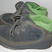 Sorel Chesterman Chukka Boots - Insulated Leather (Youth Kids Boys) Size 3 Photo