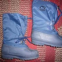 Sorel Children's Boots Blue Size 13 Photo