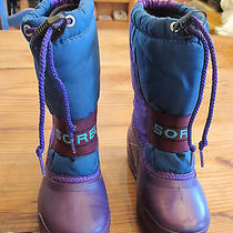 Sorel Children's Snow Boots With Liners Size 11 Photo
