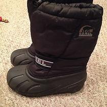 Sorel Children's Winter Snow Boots Size 2 Photo