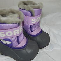 Sorel Childrens Snow Boots/ Size 4 Toddler Photo