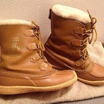 Sorel Chugalug Men's 8 Womens 10 Snow Boots Cheyenne Rawhide Canada Photo
