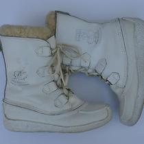 Sorel Chugalug Womens Snow Boots 7m White Photo