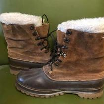 Sorel Crusader Boots Suede Steel Shank Insulated Winter Boots Men Sz 11 Usa Photo