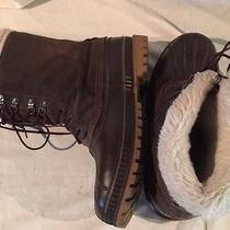 Sorel Crusader Insulated Steel Shank Winter Boots Size 10 Euc Photo