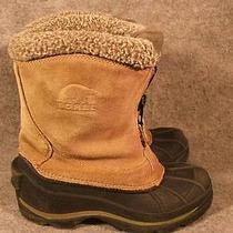 Sorel Ellesmere Taupe Leather Zippered Insulated Boots 5 / 35 Photo