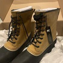 Sorel Emelie 1964 Waterproof Cold Weather Block Heel Booties Size 8 (Nl2648-286) Photo