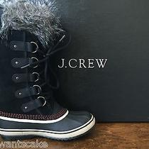 Sorel for J. Crew New Nib 7 Womens Joan of Artic Boots Black Photo