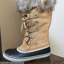 Sorel for J. Crew New Nib 7 Womens Joan of Artic Boots  Natural Photo