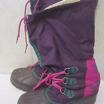 Sorel Freestyle Women's Winter Insulated Duck Boots -- Size 8 Natural Rubber Photo