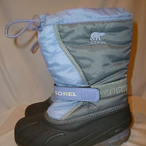Sorel Girl's Purple Flurry Tp Winter Boots---3 Youth Photo
