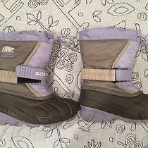 Sorel Girl Toddler Snow Boots (Size 10m) Photo