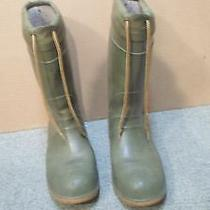 Sorel Insulated Rubber Boots Size 9 Photo