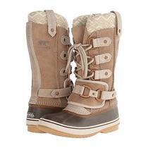 Sorel Joan of Arctic Premium Oxford Tan Suede Waterproof Winter Boots  Us 8 Photo