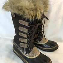 Sorel Joan of Arctic Winter Snow Boots Size 7 Brown Nl1540-248 Photo