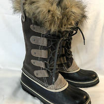 Sorel Joan of Arctic Winter Snow Boots Size 8 Brown Nl1540-051 Photo